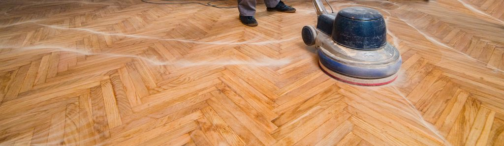 Sanding and Finishing from Ogles Hardwood Flooring